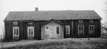 Mangårdsbyggnaden april 1993